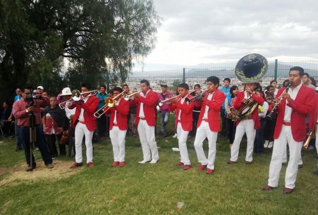 La música en el rito milenario: banda La Chayotera de San Diego Cuachayotla