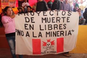 Galería de: El reclamo campesino contra el oro canadiense en Ixtacamaxtitlán