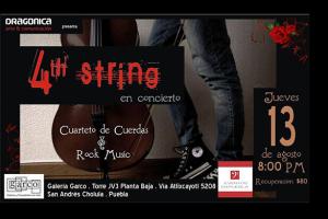 Rock con cuerdas se expande en Puebla