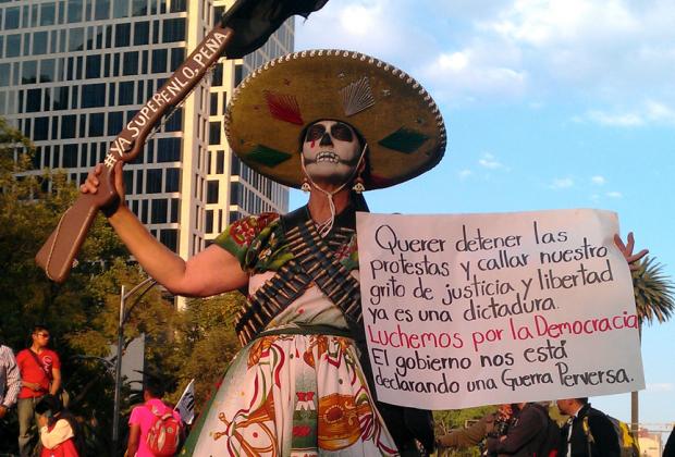 Mirar los rostros del descontento en México