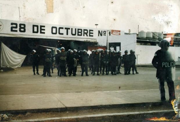 """Las agresiones del gobierno a la UPVA """"28 de Octubre"""". El recuento de un año"""