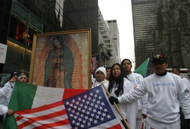 Por la Guadalupe, ¡que vivan los mexicanos en Nueva York!