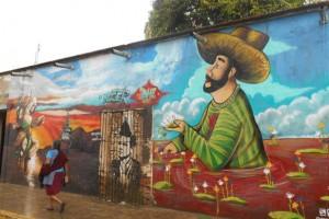 Oaxaca se pinta sola… en sus calles