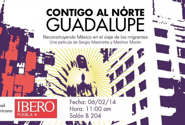Presentación del documental Contigo al Norte Guadalupe en la IBERO