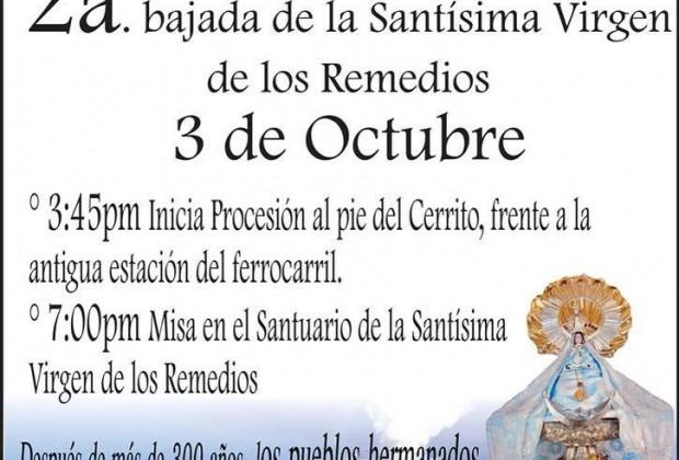 Acto de fe por la unión de las Cholulas: 3 de Octubre, Santuario de la Virgen de los Remedios