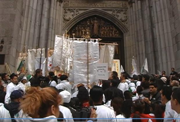 El anticlímax guadalupano un 12 de diciembre en Nueva York