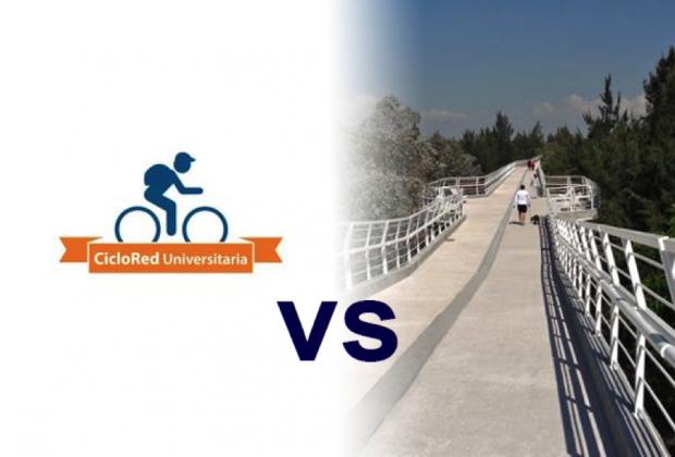#CicloRedUniversitaria vs Parque Lineal Universitario