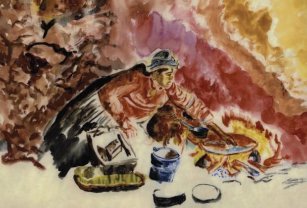 Los cinco fuegos: Historias de comida, cocina y comedor