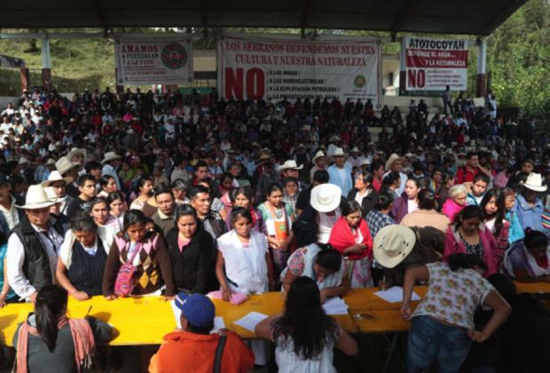 Comunidades tutunaku rechazan simulación de consulta impuesta por el Gobierno mexicano