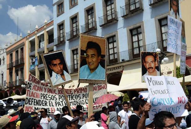 Los Derechos Humanos y la defensa patrimonial de las Cholulas