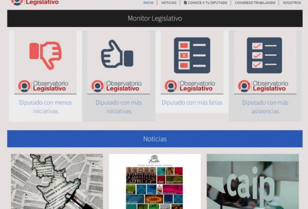 Marcaje personal a los diputados con el Observatorio Legislativo de la Ibero Puebla