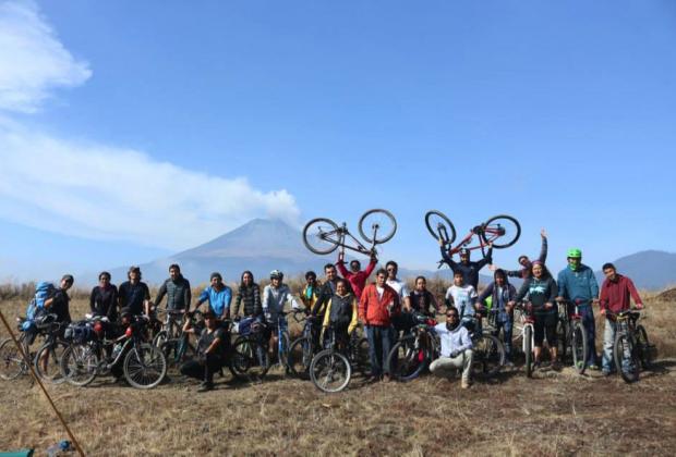 La vida en la bicicleta solidaria