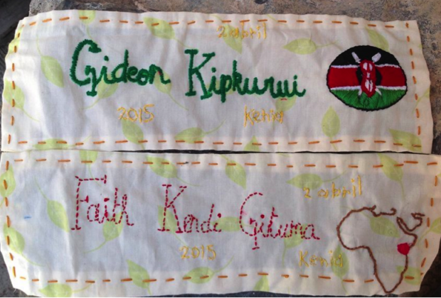 Kenia: bordamos sus nombres, porque no son cifras
