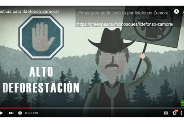 Libertad para Ildefonso, defensor de los bosques