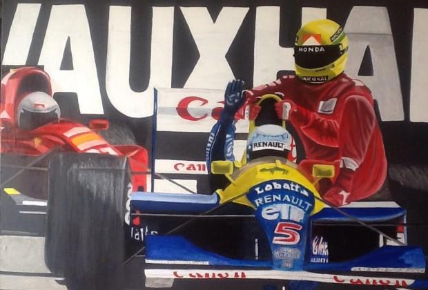 Pintar una pasión: las carreras de la Fórmula 1