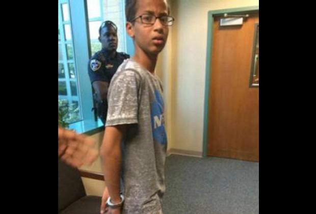 La historia de Ahmed Mohamed: si eres musulmán, nunca lleves un invento a tu escuela