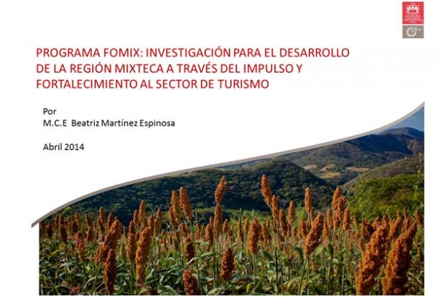 Turismo mixteco: un programa que tiene que cumplirse