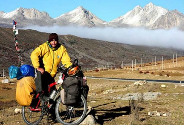 La vuelta al mundo en bicicleta: Profética Presenta a Pablo García