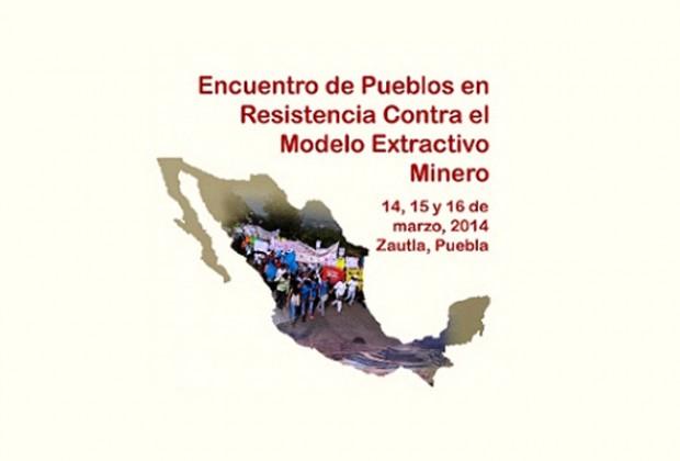 Encuentro en la Sierra Norte de pueblos en resistencia contra las mineras