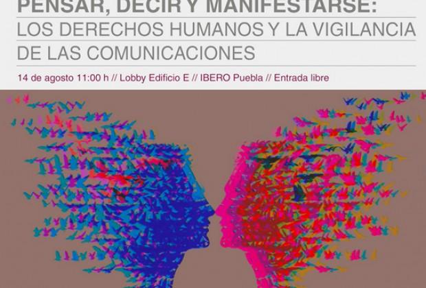 Foro en Ibero Puebla: Derechos humanos y comunicaciones