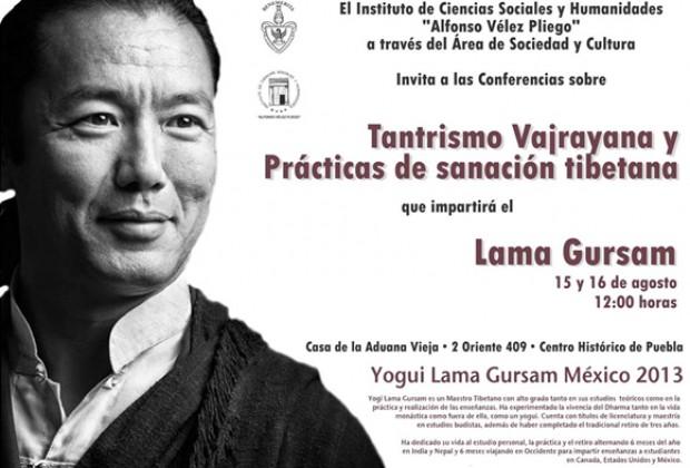 Yogi Lama Gursam en la Casa de la Aduana Vieja