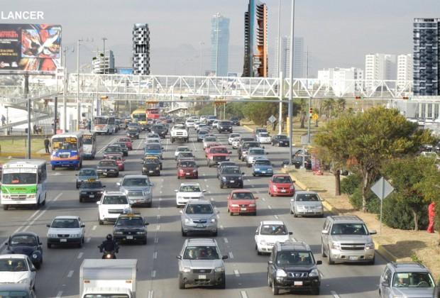 Vida en Puebla: El tráfico es peor que en México