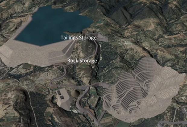 El proyecto minero en Ixtacamaxtitlán se ofrece a los inversionistas