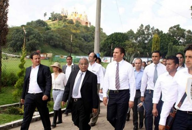 Rafael Moreno Valle manda en San Andrés y San Pedro Cholula