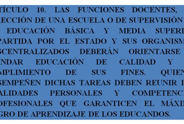 Reforma educativa: la ley que se discute