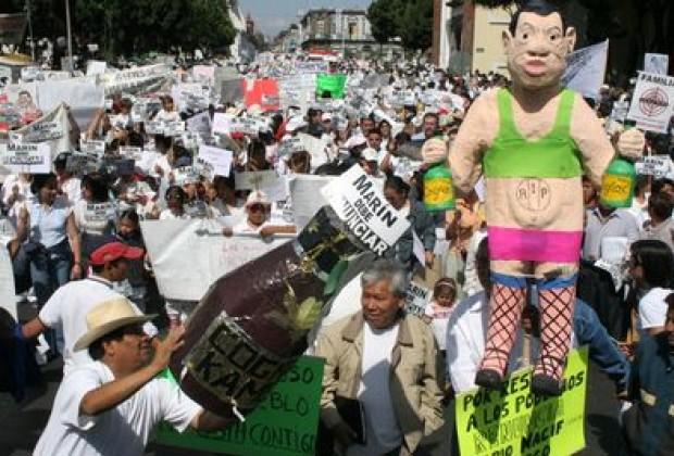 Masa y espontaneidad: la marcha que no tumbó a Marín