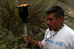 Contigo al norte, Guadalupe