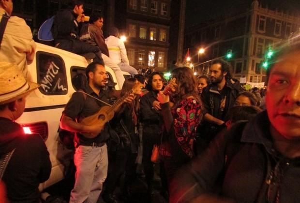 """La gente cantaba, la gente sonreía y gritaba """"justicia"""""""