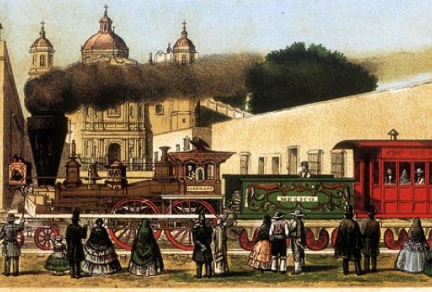 El siglo XIX: el humo redentor de la locomotora