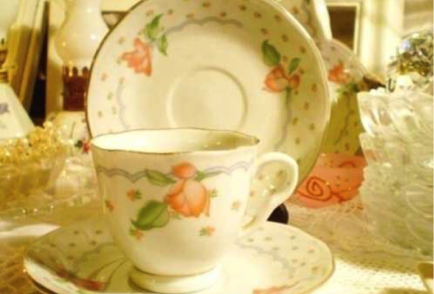 Tazas de té con deseos