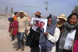 """Elia Tamayo al Papa Francisco: """"No me cansaré de pedir justica para mi pueblo…"""""""