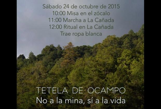 Tetela de Ocampo: 24 de octubre, Cuarta Marcha por la vida