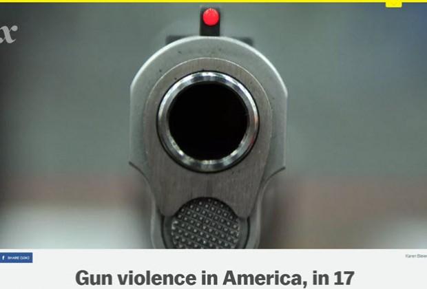 La violencia por armas de fuego en Estados Unidos