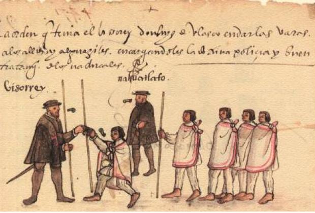 Historia del virrey trastornado, de cómo se vio envuelto en tenebrosos avatares y cómo se desenvolvió…